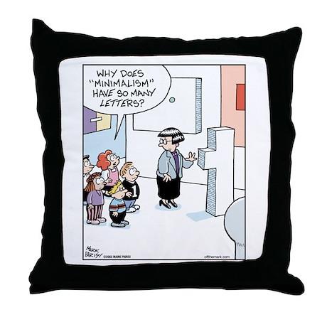 Field Trip to Art Museum Throw Pillow