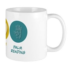 Peace Love Palm Reading Mug