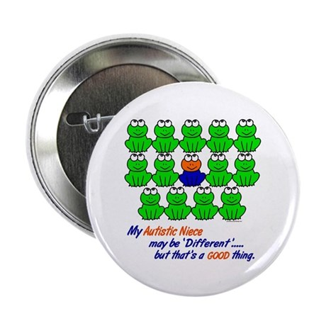 "Different FROGS 1 (Niece) 2.25"" Button (100 pack)"