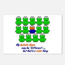 Different FROGS 1 (Niece) Postcards (Package of 8)