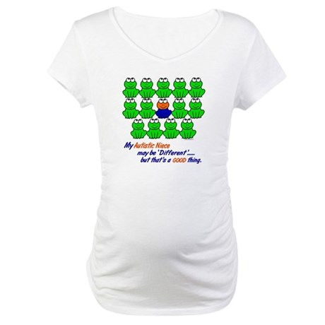 Different FROGS 1 (Niece) Maternity T-Shirt