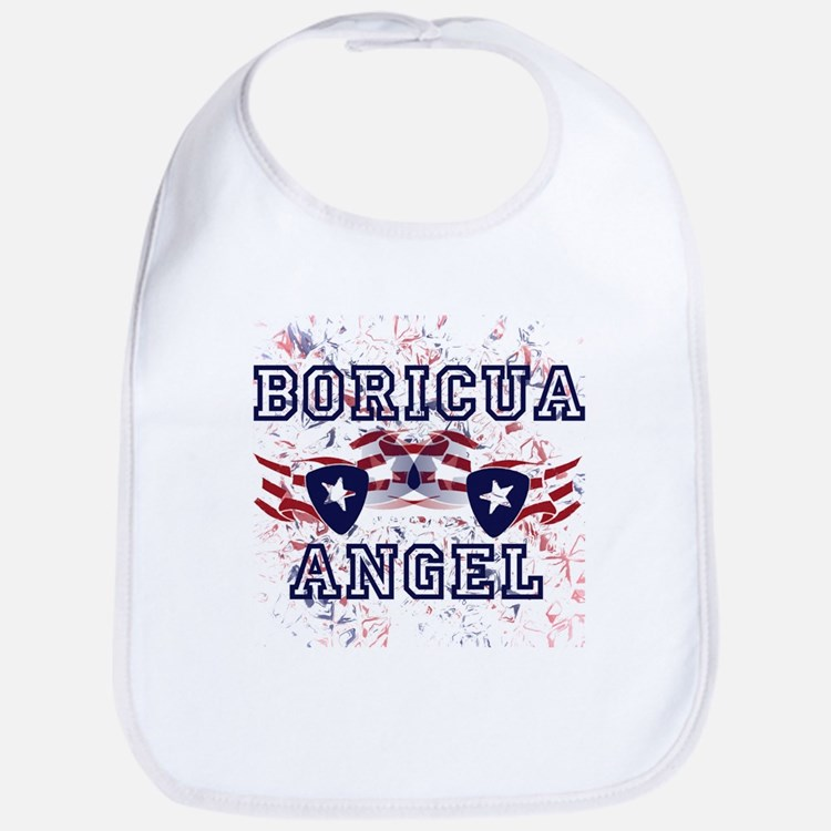 BORICUA ANGEL Bib