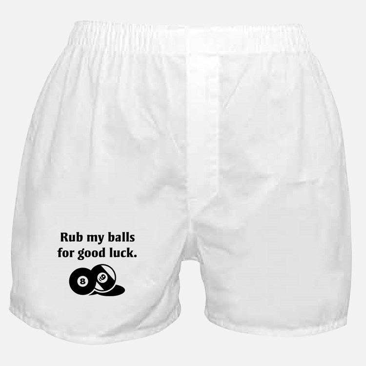 Rub My Balls Boxer Shorts