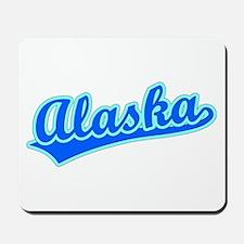 Retro Alaska (Blue) Mousepad