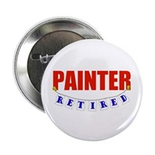 """Retired Painter 2.25"""" Button"""