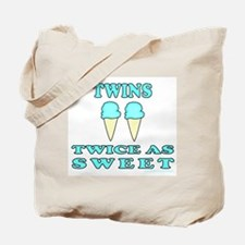 TWINS TWICE AS SWEET Tote Bag