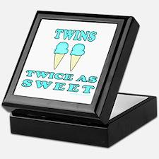 TWINS TWICE AS SWEET Keepsake Box