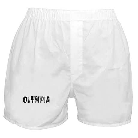 Olympia Faded (Black) Boxer Shorts