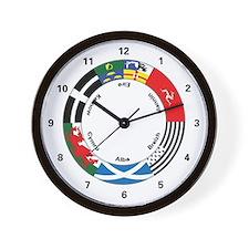 Celtic Nations Wall Clock