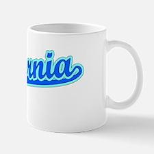 Retro California (Blue) Mug