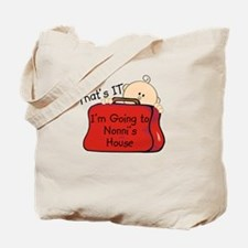 Going to Nonni's Funny Tote Bag