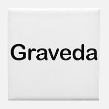 Pregnant in Esperanto Graveda Tile Coaster