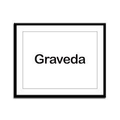 Pregnant in Esperanto Graveda Framed Panel Print