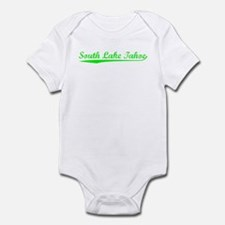 Vintage South Lake.. (Green) Infant Bodysuit