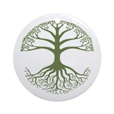 Deeply Rooted Ornament (Round)