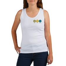 Peace Love Osteopathy Women's Tank Top