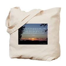 On Eagle's Wings...Psalm 91 Tote Bag