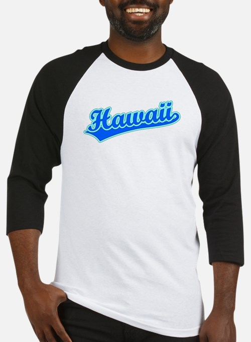 Retro Hawaii (Blue) Baseball Jersey