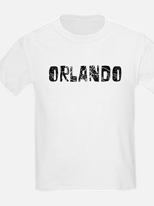 Orlando Faded (Black) T-Shirt
