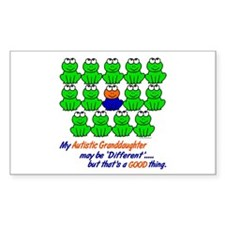 Different FROGS 1 (Granddaughter) Decal