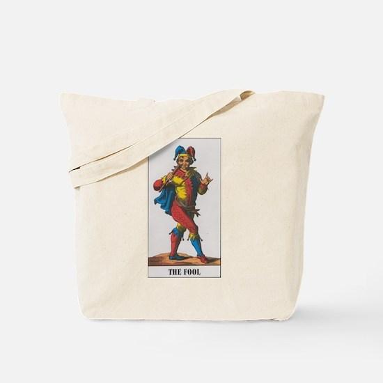 Funny Tarot fool Tote Bag