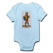 Funny Tarot fool Infant Bodysuit
