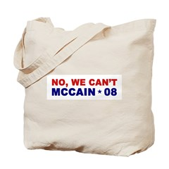 NO, WE CAN'T Tote Bag
