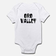 Oro Valley Faded (Black) Infant Bodysuit