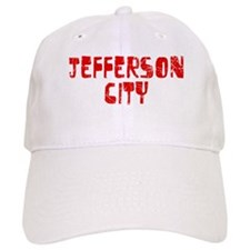 Jefferson City Faded (Red) Baseball Cap