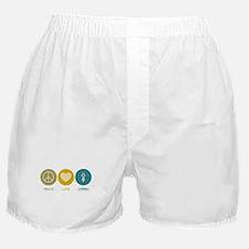 Peace Love Opera Boxer Shorts