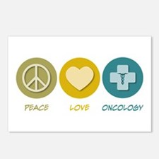 Peace Love Oncology Postcards (Package of 8)