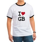 Great Britain Heart Ringer T