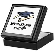 Smart Funny Grad Keepsake Box