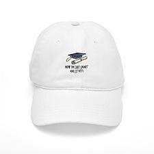 Smart Funny Grad Baseball Cap