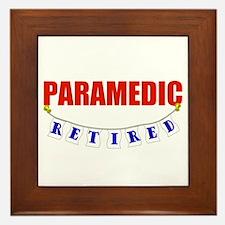 Retired Paramedic Framed Tile