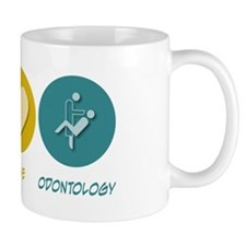 Peace Love Odontology Mug
