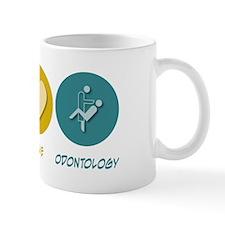 Peace Love Odontology Mug