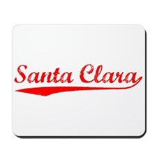 Vintage Santa Clara (Red) Mousepad