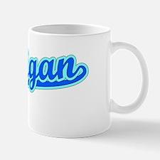 Retro Michigan (Blue) Mug