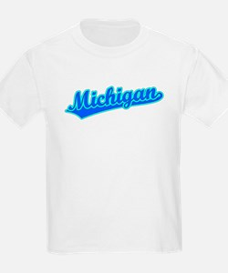 Retro Michigan (Blue) T-Shirt