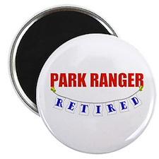 """Retired Park Ranger 2.25"""" Magnet (100 pack)"""