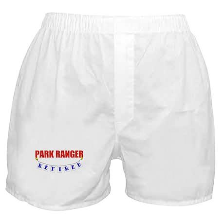 Retired Park Ranger Boxer Shorts