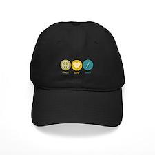 Peace Love Oboe Baseball Hat