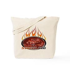 Glowing Street Rod Tote Bag