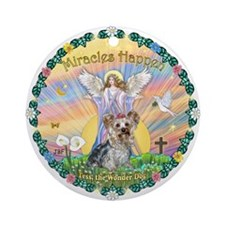 Wreath - Miracles / Tess Ornament (Round)