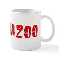 Kalamazoo Faded (Red) Mug