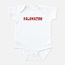 Kalamazoo Faded (Red) Infant Bodysuit