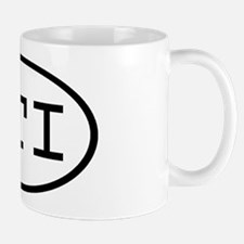 PTI Oval Mug