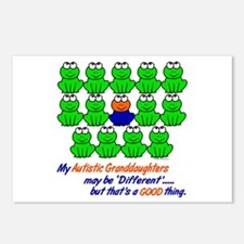 Different FROGS 1 (Granddaughters) Postcards (Pack