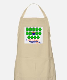 Different FROGS 1 (Granddaughters) BBQ Apron
